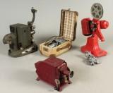 Bolex M8 samt Nilus m.m. 8 mm filmprojektorer (4)
