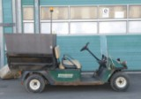 EZ GO Workhorse 1000E electric golf cart with load, from 2001 (1)