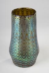 Loetz vase, tidligt mønster Rubin Phänomen Gre 6893, 1899