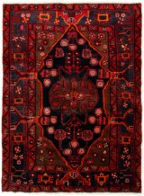 Persisk Nahhavand tæppe, 169X125 cm.