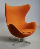Arne Jacobsen. The Egg easy chair, model 3316, 1960's