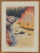 Agnes Cleve akvarell