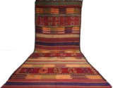 Hand-knotted Moroccan kelim, 449 x 188 cm