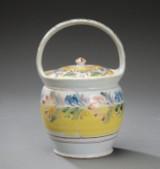Kellinghusen faience 'barselspotte' (maternity pot), c. 1820