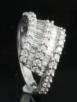 18Kt diamond ring approx. 1.01ct