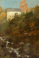 Carl Arp, Landschaft bei Hetschenburg