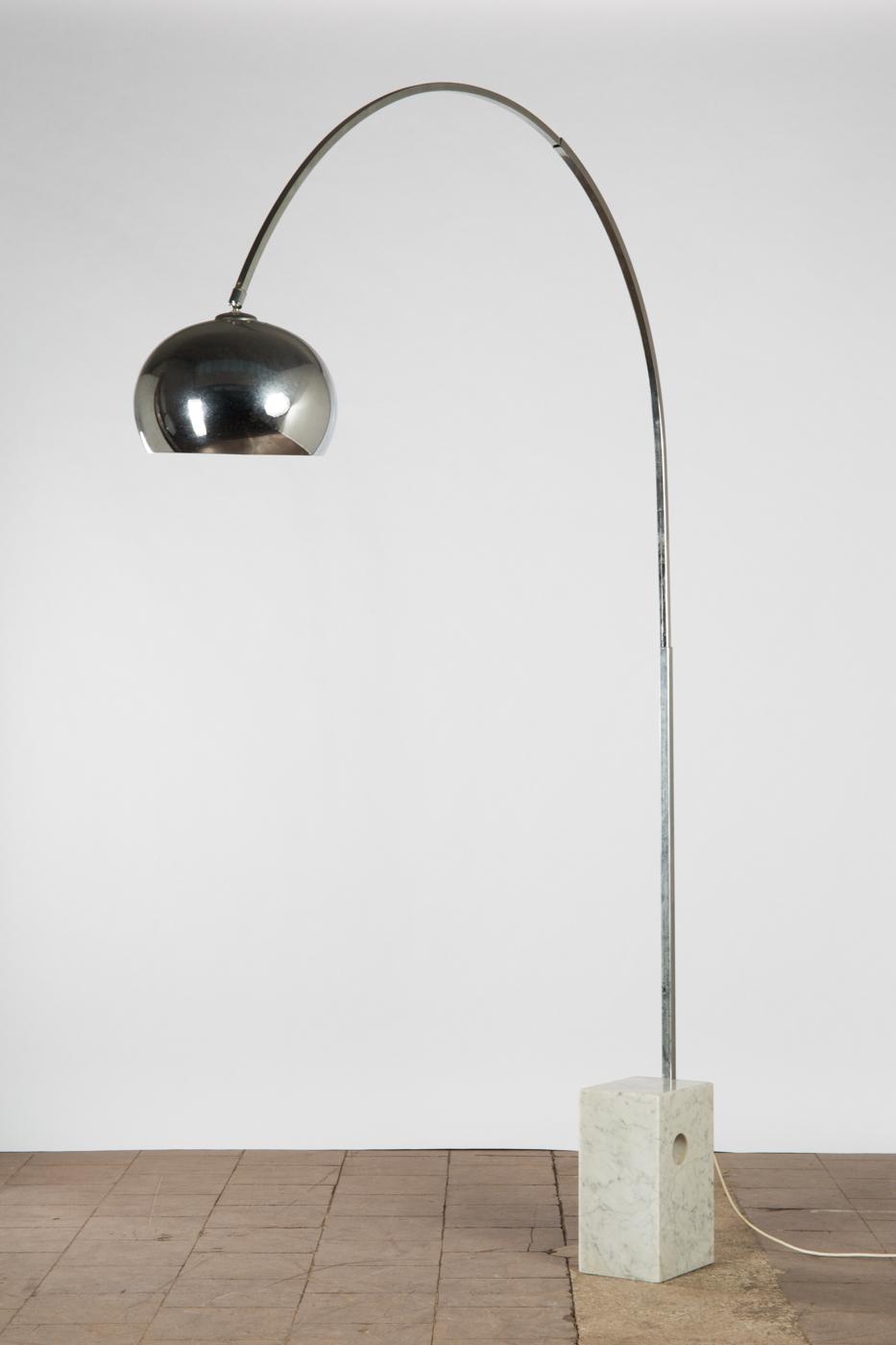 Auktionstipset Wohl Flos Lampe Bogenleuchte Stehleuchte 60er