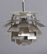 Pendant lamp, Louis Poulsen, PH Artichoke (steel), by Poul Henningsen, with case and numbered certificate, Ø 48 cm