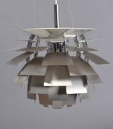 Pendant lamp, Louis Poulsen, PH Artichoke (steel), by Poul Henningsen. Ø 48 cm