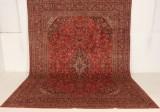 Persisk handknuten matta Mashad, 387x290 cm