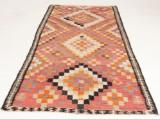 Orientalisk flatvävd matta, old Kelim, 270x143