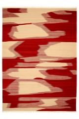 Moderne Kelim 349 x 252 cm.