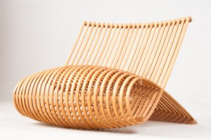 marc newson wooden chair 1992 designed for cappellini