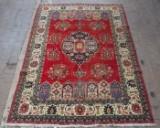 Persisk Tabriz tæppe, ca. 179 x 385 cm