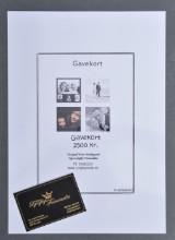 Fotogavekort til Kgs. Lyngby Fotostudio, værdi 2500 kr.