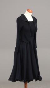 SportMax kjole med underkjole samt kort jakke str. S/M