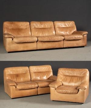 De Sede Lounge Suite 3er Sofa 2er Sofa Und Sessel Modell Ds 66 3