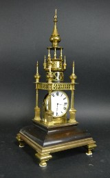 English tower clock, historism
