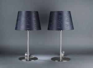 lot 3080207 par georg jensen damask bordlamper 2. Black Bedroom Furniture Sets. Home Design Ideas