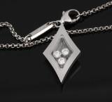 Chopard. Diamond necklace, 18 kt. white gold