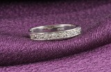 18kt diamond eternity ring approx. 0.33ct<br>