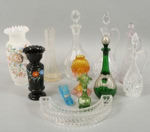 Parti glasföremål 181900-tal 12