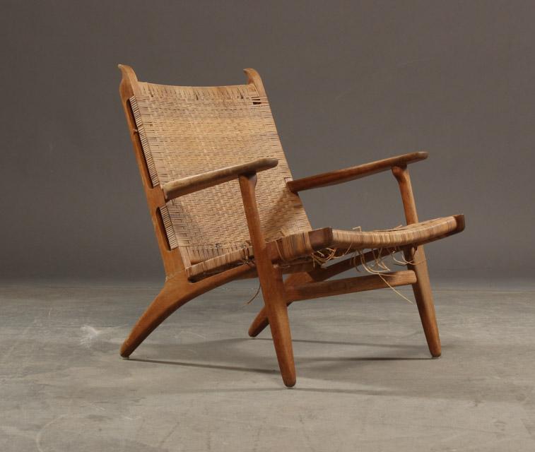 hans j wegner stol Auktionstipset   Hans. J. Wegner. Stol model CH 27 af eg. hans j wegner stol