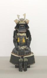 Samurai-Rüstung, Gendai Kuro Gusoku Yoroi, frühere Showa-Periode, Japan