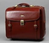 Apples. Business/Rejsetaske i brunt læder