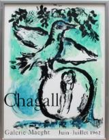Affisch, Marc Chagall, 1960-tal