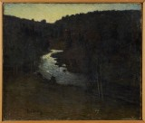 Erik Hedberg oljemålning