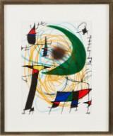 Joan Miro litografi