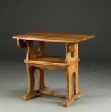 Bord af egetræ. 1700/1800-tallet
