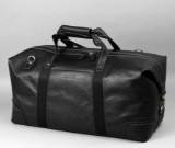Apples. Weekendtaske i sort læder.