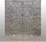 Carpet, pale Keshan, Persia, 396 x 286