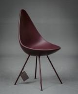 Arne Jacobsen. Stol model 3110, Dråben