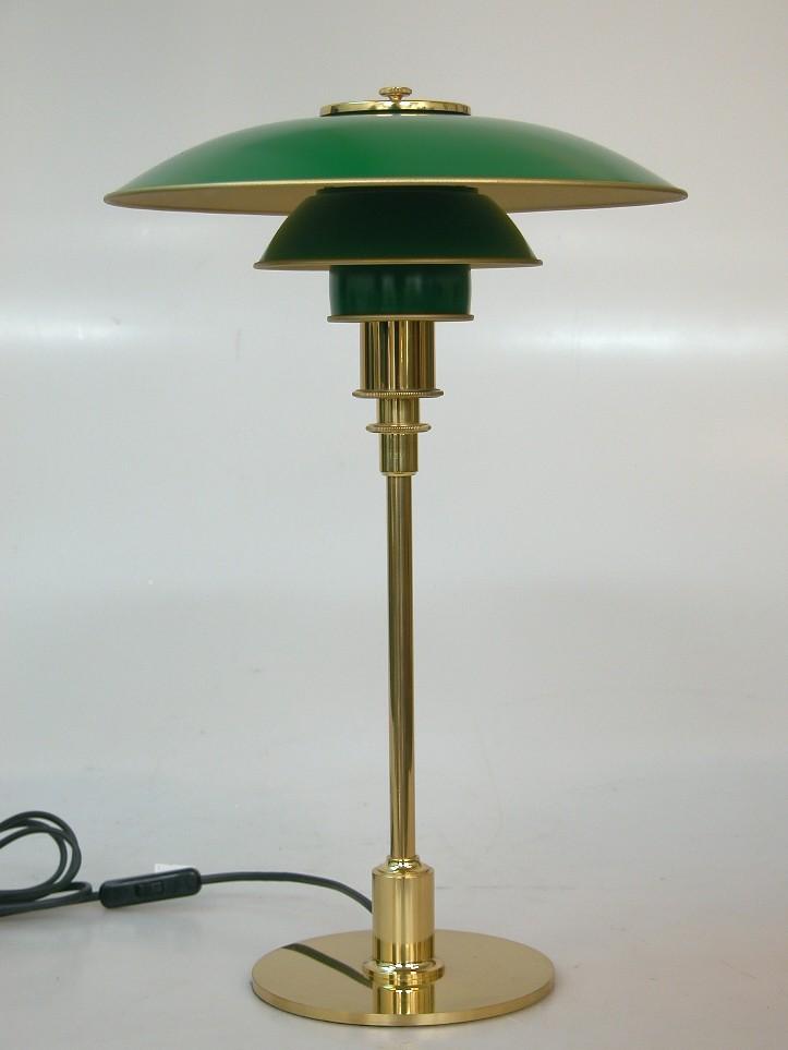 Poul Henningsen. PH 32 table lamp. Anniversary model.