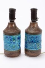 Par Bitossi bordlamper af keramik (2)