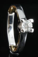 18kt diamond ring approx. 0.49ct