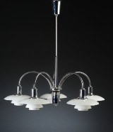 Poul Henningsen. PH Bombardment Chandelier, anniversary model