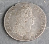 Denmark 1 krone. 1693  AMB F.