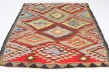 Matta, flatvävd, Harsin-kelim, 230x170 cm