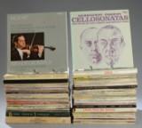 Samling vinylplader. Klassisk (142)