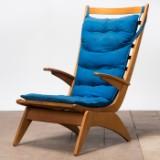 Jan den Drijver, Woninginrichting De Stijl, The Hague, Sessel / Easy Chair, niederländisches Design, Entwurf von 1948