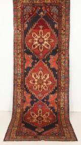 Handknuten persisk gallerimatta, Meshkin 310 x 108 cm