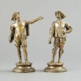 Emile Guillemin försilvard brons