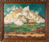 A painting, Impressionism, Munich school, c. 1900