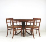 Ole Wanscher, dining table with chairs/armchairs model Rungstedlund for P. Jeppesen (5)
