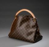 Louis Vuitton. Model Artsy, taske af Monogram canvas