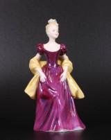 Loretta England, figur, porcelæn